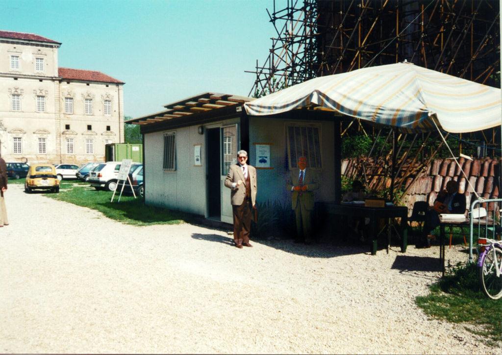 Container ad uso Biglietteria A.V.T.A. 1990 - Gianfranco Falzoni e Gino Vanzi.